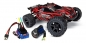Preview: TRAXXAS Rustler 4x4 rot RTR +12V-Lader+Akku +BL-Upgrade