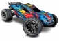 Mobile Preview: TRAXXAS Rustler 4x4 VXL rot/gelb RTR ohne Akku/Lader