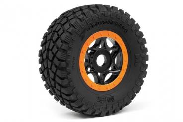 HPI VORZA Flux 2 Reifen mit Felgen 107383 Neu 107855