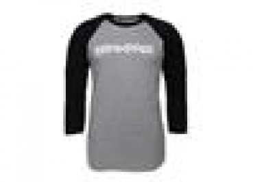 TRAXX RAGLAN SHIRT GREY/BLK XL