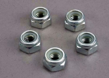 NUTS, 6mm NYLON LOCKING (WHEEL