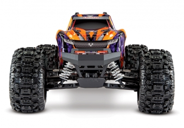 TRAXXAS HOSS 1:10 RTR TSM SR VXL-3S Regler ohne Akku/Lader 1/10 Monster-Truck Brushless orange