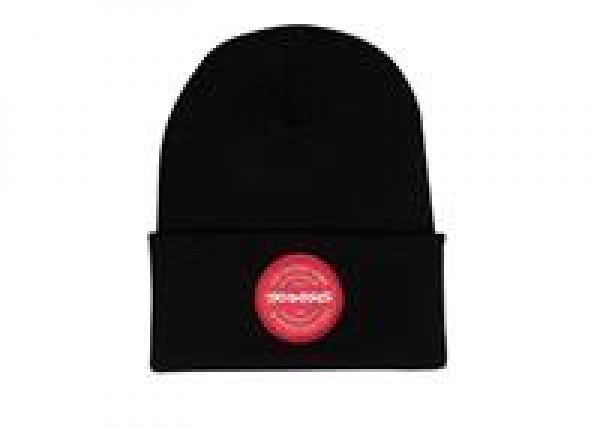 TOKEN FOLD BEANIE YOUTH BLACK