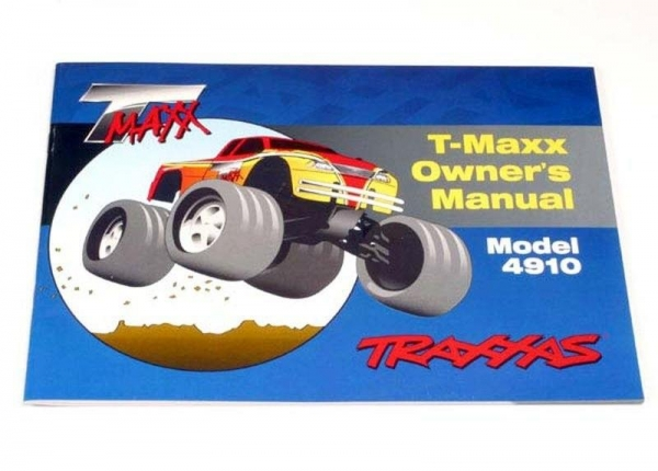 OWNER'S MANUAL, T-MAXX