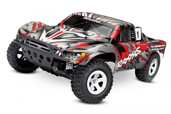 TRAXXAS Slash rot-X RTR ohne Akku/Lader **AKTION**